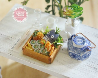 Miniature Bento Box (Totoro!) (トトロ)
