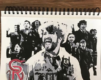 School of Rock - Broadway drawing