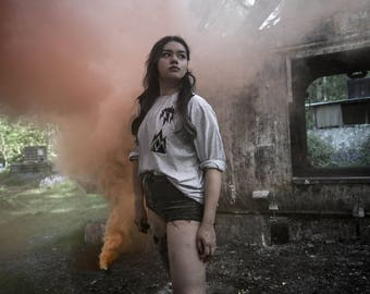 Storm-Cloud Iron On T-Shirt - Hoodie - Bag - Transfers - Alternative/Hipster