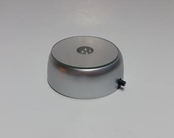 Stationary White LED Display Base for Wet/Diaphonized Specimens