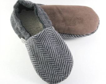 Fathers Day Gift for Husband- Gift for Grandpa- Teen Mens Gift- Cozy Gifts- Relaxation Gifts- Wool Slippers- Minimalist Gift for Him- Hygge