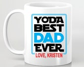 Father's Day gift - Yoda Best Dad Ever - Gift For Dad From Daughter Fathers Day Gift From Son - Coffee Mug Gift For Dad - Starwars Dad
