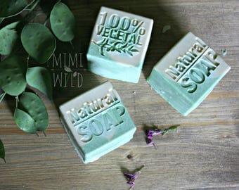 Clay and sea salt SOAP
