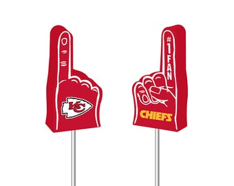 Kansas City Chiefs NFL Foam Finger Antenna Topper