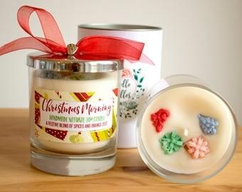 Christmas Morning - Luxury Glass Jar Candle