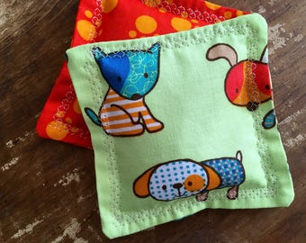 Puppies & Paws Hand Warmers with Vanilla Scented Flax Seed