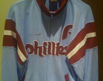 Phillies Greg Luzinski Autographed Jacket M