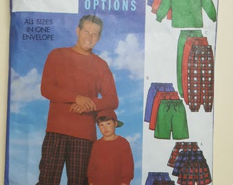 Butterick Pattern for Father and Son #5286
