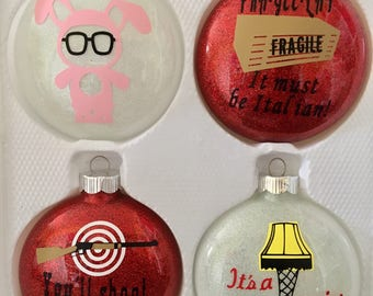 A Christmas Story Ornaments