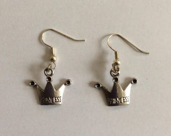 Princesse Crown earrings