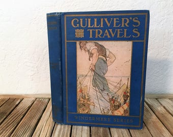 Vintage 1912 Book Titled Gulliver's Travels
