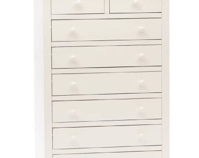 """White chest of drawers """"LILLY"""""""