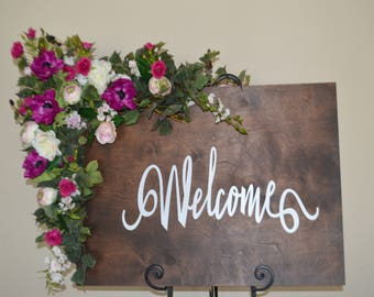 Wedding Arch, Welcome Sign, Chuppah Flowers, Wedding Arch Flowers, Wedding Arch Flowers, Wedding Sign