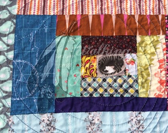 Tigress - a Lost Baby Quilt
