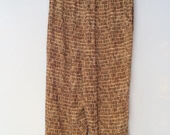 1990s Rayon Pants
