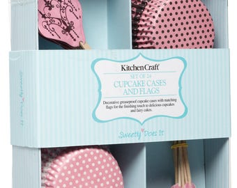 Cupcake decorating Kit - lace pattern