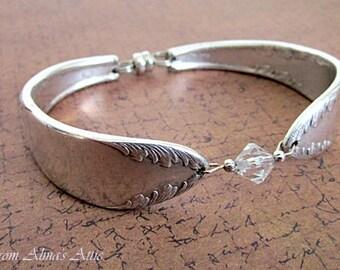 Silverware Bracelet, Silver Spoon Bracelets, Vintage Silver Bracelet, Silverware Jewelry, Spoon Bracelest, Old Spoon Bracelet, Spoon Jewelry