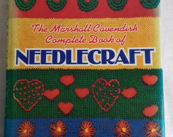 The Marshall Cavendish Needlecraft Book - Vintage 1970's Craft Book