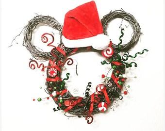 Wreath, Christmas Wreath, Grapevine Wreath, Holiday Wreath, Door Decor