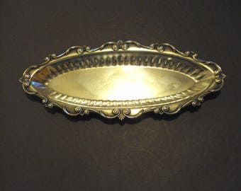 TOWLE STERLING SILVER  oval tray