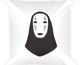 No Face // Kaonashi // No Face Pillow // Spirited Away // Spirited Away Pillow // Studio Ghibli Pillow