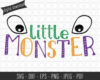 Little Monster SVG, Halloween SVG, Commercial SVG, Commercial Cut Files, Monster Cut File, Halloween Cut File, Spooky svg, Funny svg, Vector