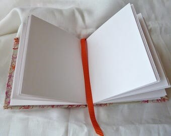 Embroidered Linen Book