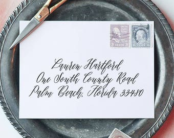 Envelope Addressing - Custom Envelope Addressing - Calligraphy Envelope Addressing - Wedding Envelope Addressing - Custom Calligraphy Cards