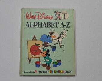Vintage Alphabet A-Z (Disney's Fun-to-Read Library, Vol. 1) (1983-05-03) (Hardcover)