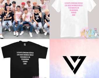 Diamond Seventeen names Kpop T-Shirt