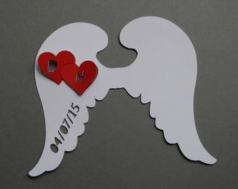Mark up go Angel heart initial