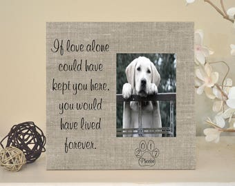 dog loss frame dog memorial pet sympathy gift pet memorial cat sympathy - Dog Memorial Frame