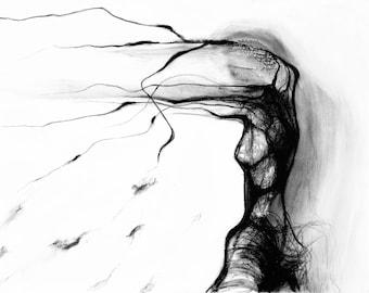 Abstract Figure. Fine Art PRINT