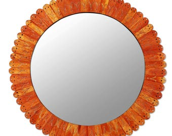 designer sunset wall mirror