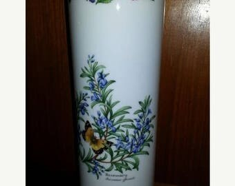"""ON SALE REDUCED Royal Worcester Herbs Large Pasta Holder No Lid 12"""" tall Dinnerware Hard to Find"""