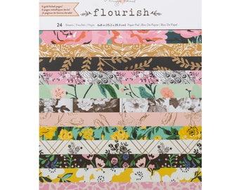 Maggie holmes flourish 6x8 paper pad