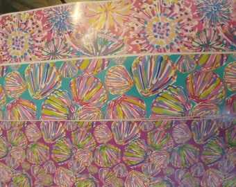 Lily Pulitzer Inspired Vinyl Upgrade *Vinyl sheets not for sale! This is an upgrade to this vinyl with an order*