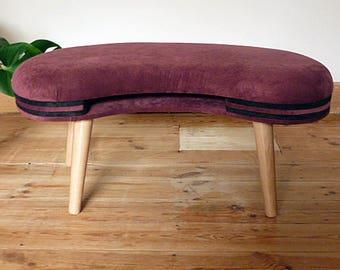 Footstool - Mid Century Style - 1950's