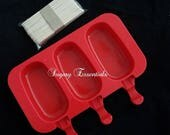 3 Pcs. Popsicle Mold