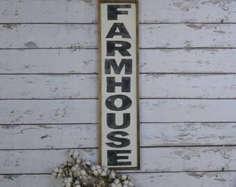 Farmhouse Sign, Farmhouse Decor, Farmhouse Kitchen, Farmhouse Signs, Vertical Sign, Wooden Sign, Custom Wood Sign, Kitchen Sign, Framed Sign