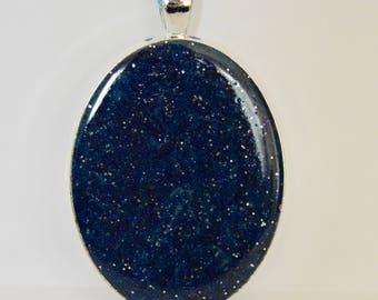 Glitter Resin Pendant