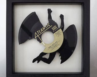 Led Zeppelin 'Whole Lotta Love' Swan Song Vinyl Record Art