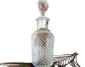 Avon Perfume Bottle, Avon Glass Bottle, Avon Collectible, 80s Avon, Avon, Retro Perfume, Glass Perfume Bottle, Glass Decanter, Decanter