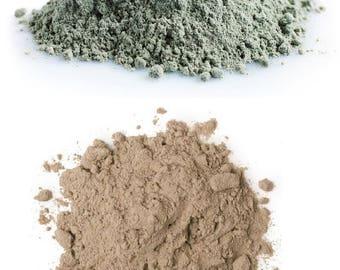 New Zealand Bentonite Clay, Sodium & Calcium Types (powder, cosmetic, face mask)