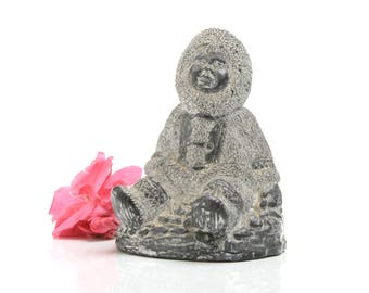 Inuit art, Inuit carving, Canada art, inuit art decor, Inuit sculpture,eskimo art