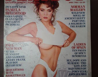 playboy April 1983 vintage magazine