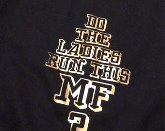 Ladies run this MF crewneck sweater