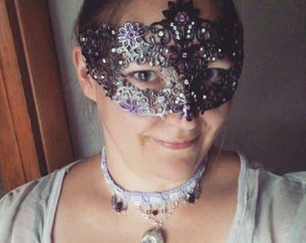 Moonlit Daisy Mask