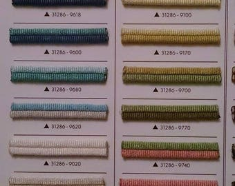 Upholstery trim, double rope colors