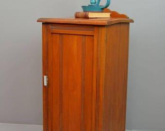 Vintage Antique Edwardian Bedside Cabinet